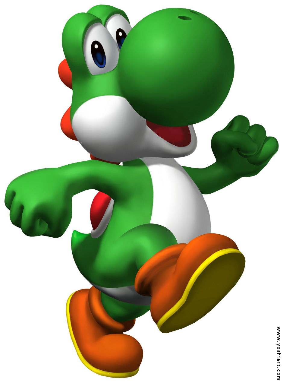 Yoshi Coloring Pages Free Coloring Pages